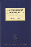 Cover of Sanctions in EU Competition Law: Principles and Practice