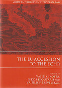 Cover of The EU Accession to the ECHR
