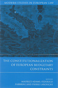 Cover of The Constitutionalization of European Budgetary Constraints