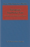 Cover of European Insolvency Law: The Heidelberg-Luxembourg-Vienna Report