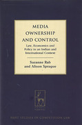 Cover of Media Ownership and Control: Law, Economics and Policy in an Indian and International Context