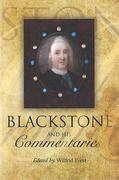 Cover of Blackstone and his Commentaries: Biography, Law, History