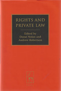 Cover of Rights and Private Law