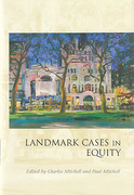Cover of Landmark Cases in Equity