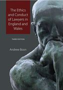 Cover of The Ethics and Conduct of Lawyers in the United Kingdom