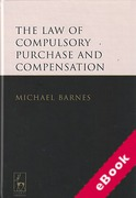 Cover of The Law of Compulsory Purchase and Compensation (eBook)