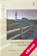 Cover of Landmark Cases in Property Law (eBook)