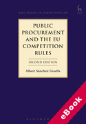 Cover of Public Procurement and the EU Competition Rules (eBook)