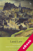 Cover of An Introduction to Land Law (eBook)