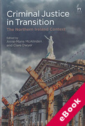 Cover of Criminal Justice in Transition: The Northern Ireland Context (eBook)