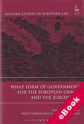 Cover of What Form of Government for the European Union and the Eurozone (eBook)