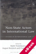 Cover of Non-State Actors in International Law (eBook)
