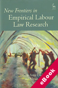 Cover of New Frontiers of Empirical Labour Law Research (eBook)