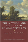 Cover of The Method and Culture of Comparative Law: Essays in Honour of Mark Van Hoecke