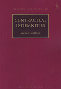 Cover of Contractual Indemnities