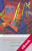 Cover of Constitution of Canada: A Contextual Analysis (eBook)