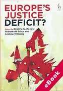 Cover of Europe's Justice Deficit? (eBook)