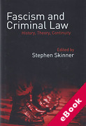 Cover of Fascism and Criminal Law: History, Theory, Continuity (eBook)