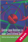 Cover of Central-Local Relations in Asian Constitutional Systems (eBook)