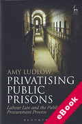 Cover of Privatising Public Prisons: Labour Law and the Public Procurement Process (eBook)