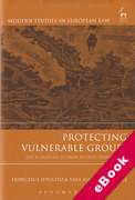 Cover of Protecting Vulnerable Groups: The European Human Rights Framework (eBook)