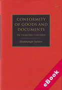 Cover of Conformity of Goods and Documents: The Vienna Sales Convention (eBook)