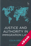Cover of Justice and Authority in Immigration Law (eBook)