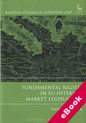 Cover of Fundamental Rights and EU Internal Market Legislation (eBook)