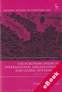 Cover of The European Union in International Organisations and Global Governance (eBook)