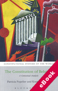 Cover of Constitution of Belgium: A Contextual Analysis (eBook)
