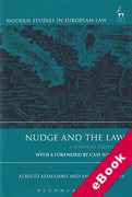 Cover of Nudge and the Law: A European Perspective (eBook)
