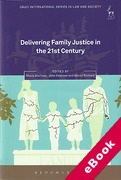 Cover of Delivering Family Justice in the 21st Century (eBook)