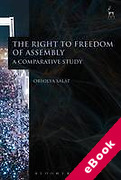 Cover of The Right to Freedom of Assembly: A Comparative Study (eBook)