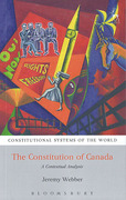 Cover of Constitution of Canada: A Contextual Analysis