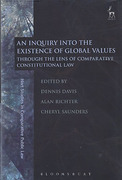 Cover of An Inquiry into the Existence of Global Values: Through the Lens of Comparative Constitutional Law