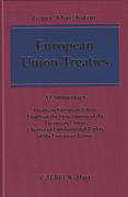 Cover of European Union Treaties: A Commentary