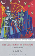 Cover of Constitution of Singapore: A Contextual Analysis