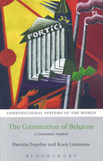 Cover of Constitution of Belgium: A Contextual Analysis