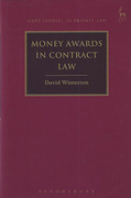 Cover of Money Awards in Contract Law