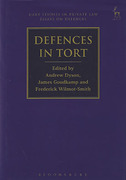 Cover of Defences in Tort