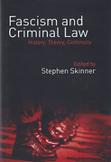 Cover of Fascism and Criminal Law: History, Theory, Continuity