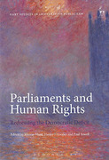 Cover of Parliaments and Human Rights: Redressing the Democratic Deficit