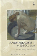 Cover of Landmark Cases in Medical Law