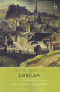 Cover of An Introduction to Land Law
