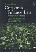 Cover of Corporate Finance Law: Principles and Policy