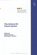 Cover of The Unitary EU Patent System