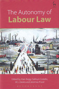 Cover of The Autonomy of Labour Law