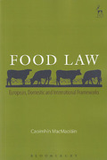 Cover of Food Law: European, Domestic and International Frameworks
