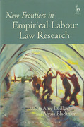 Cover of New Frontiers of Empirical Labour Law Research