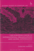 Cover of The European Union in International Organisations and Global Governance